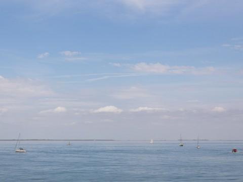 La mer vue de Saint-Martin-de-Ré