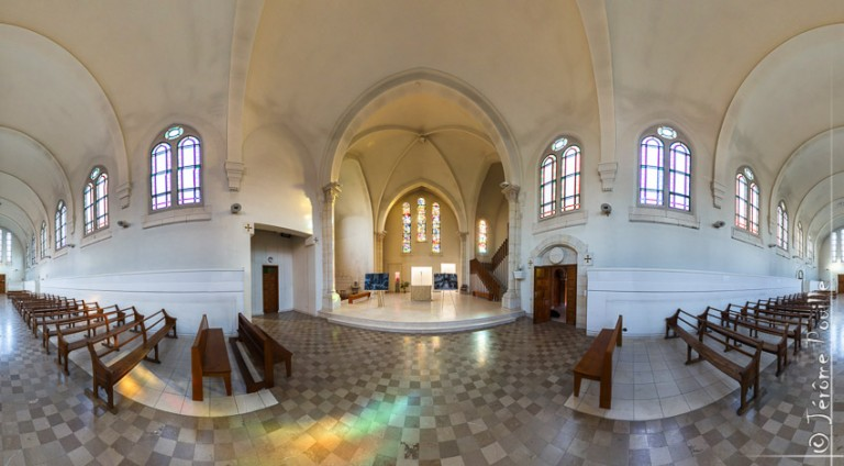 Abbaye de Belval (France) – projection stereographique