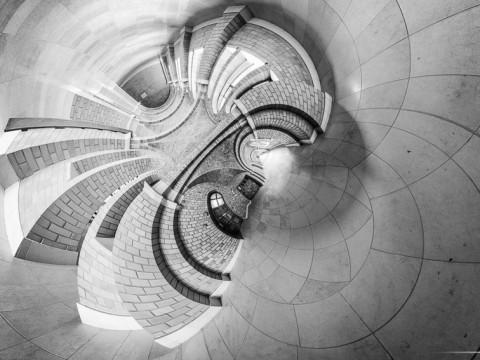 Abbaye de Belval (France) – projection stereographique