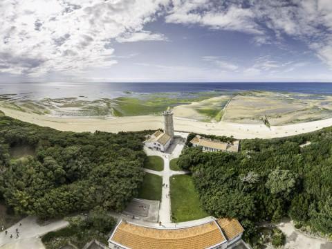 Vue 360° du haut du phare des Baleines