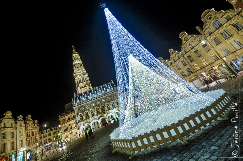 Places d'Arras, noël 2014