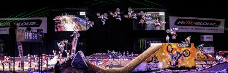 Supercross Paris-Bercy 2014 au Stade Pierre-Mauroy
