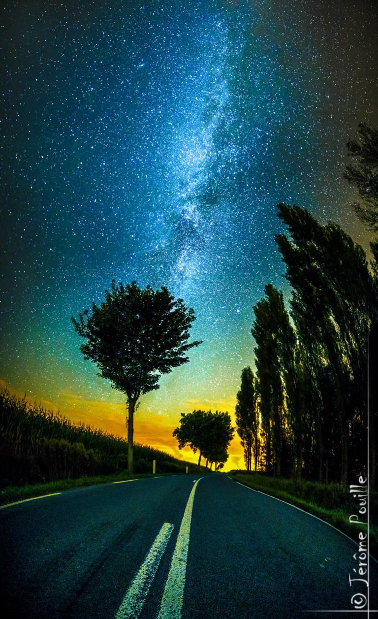La route des étoiles