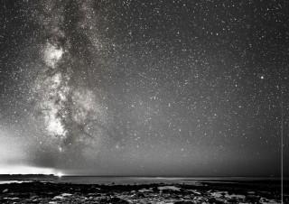 Voie lactée au dessus de l'Île de Ré (2014)