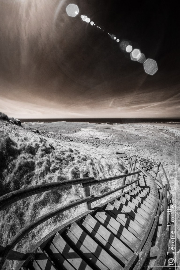 La pointe aux Oies INFRARED