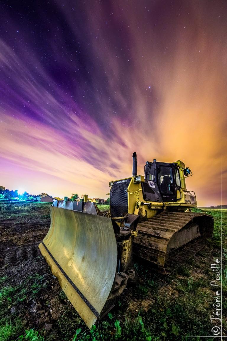 Les étoiles se ramassent au bulldozer