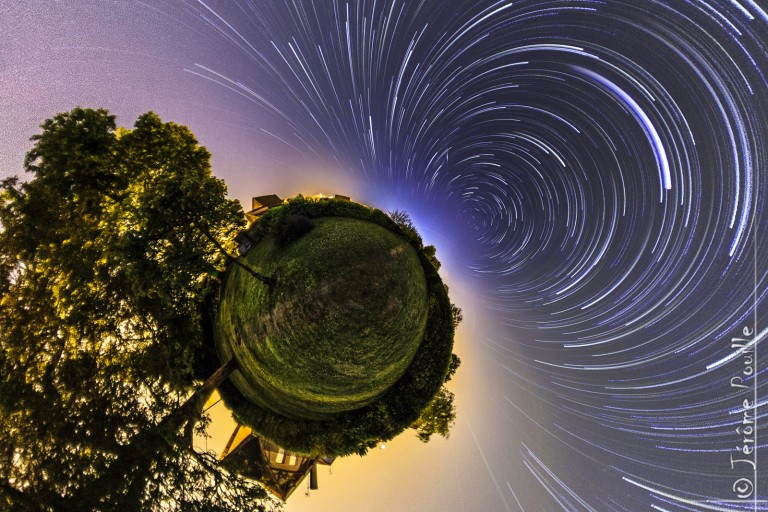 Startrails in Auchel