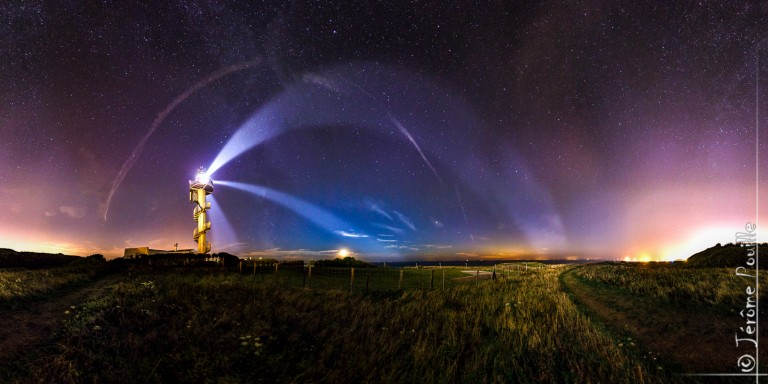 Le phare d'Alprech (Le-Portel)
