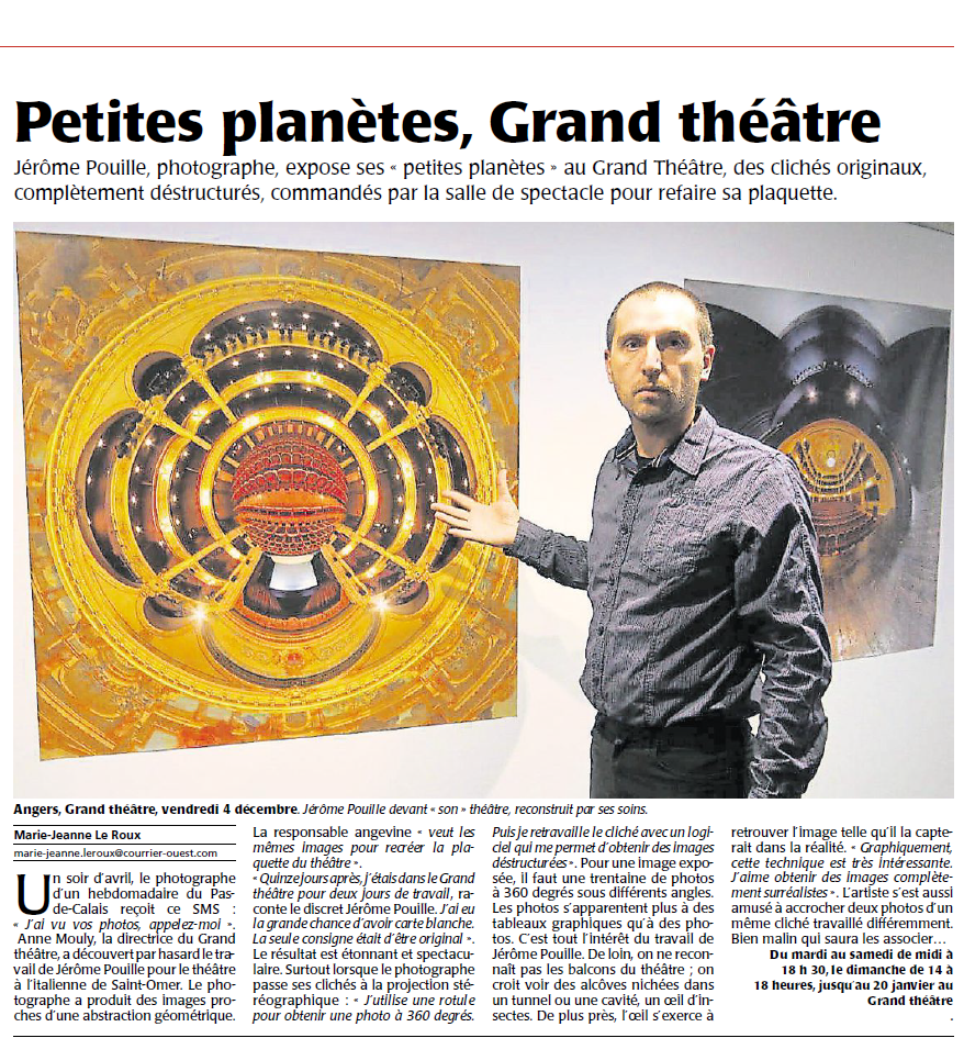 Courrier de l'Ouest 08 dec. 2015