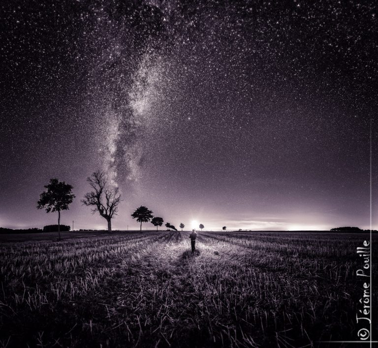 alone under the stars…
