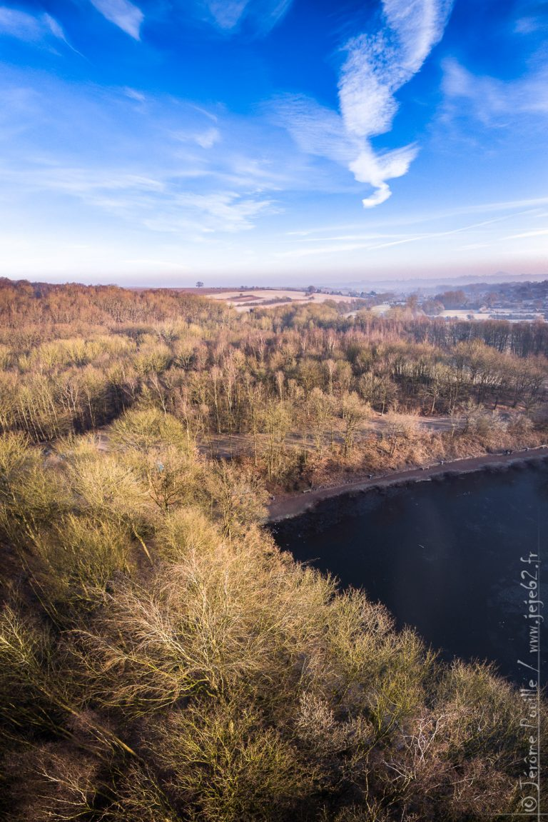 Un matin d'hiver au dessus de Beugin (panoramique)