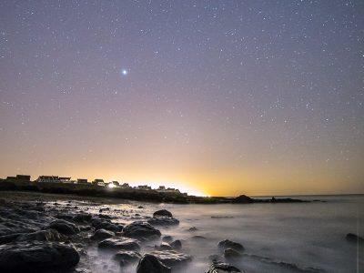Une nuit de printemps sur la côte d'Opale