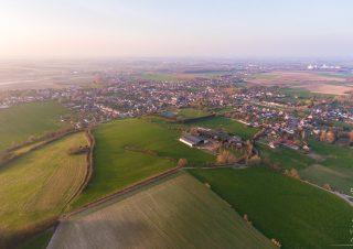 vue aérienne de Burbure (62)
