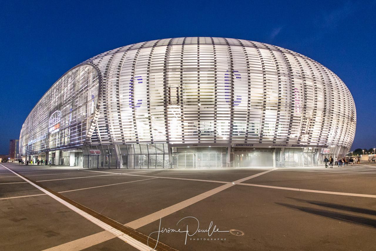 Extérieurs Grand Stade - nocturne /  juillet 2013