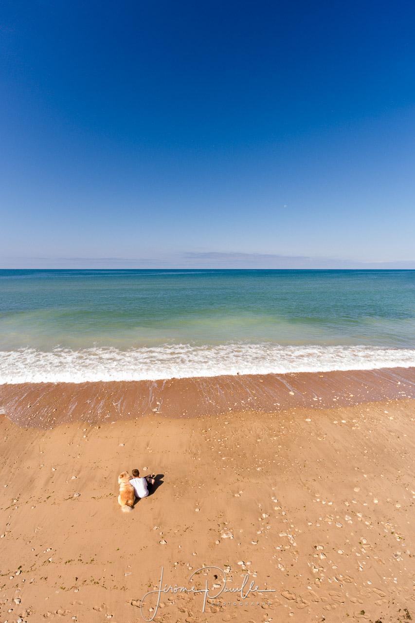 seuls face à l'océan