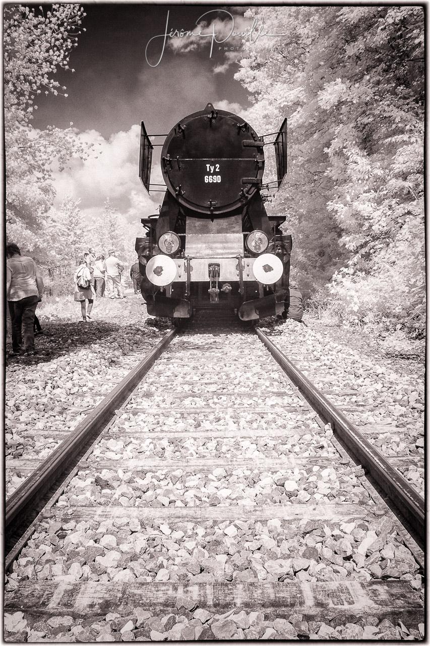 Train touristique de la vallée de l'Aa INFRARED