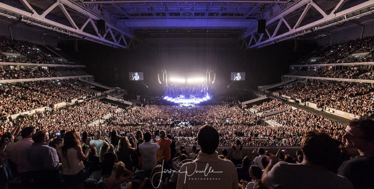 Concert du 20 juillet 2013 au Grand Stade Lille Métropole