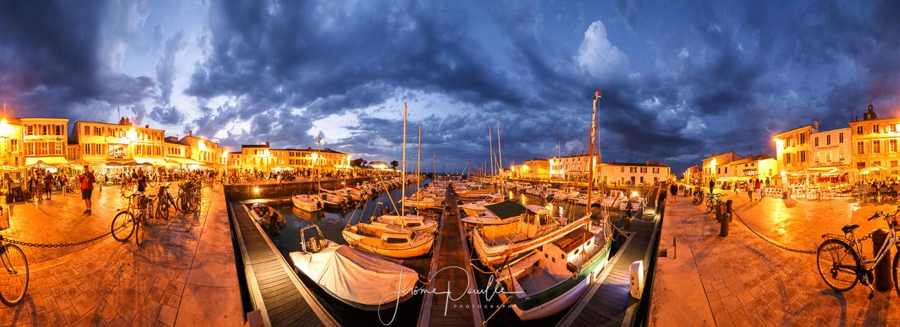 Panoramique La Flotte en ré