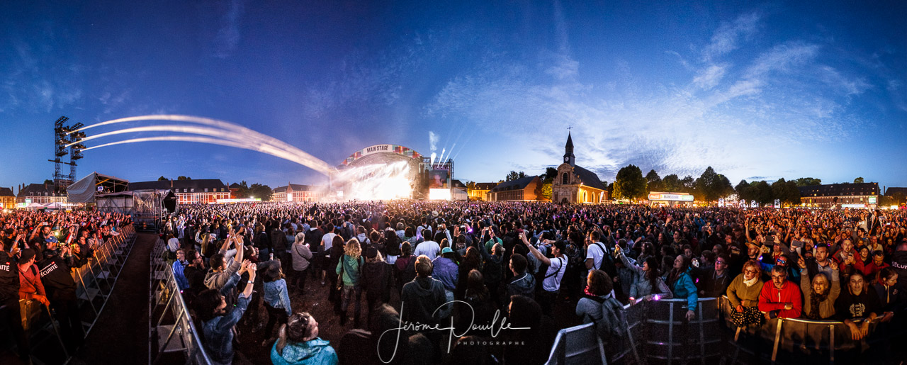 Le public @ Mainsquare festival 2016