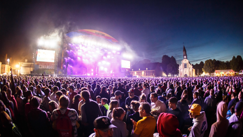 Le public du Mainsquare festival 2019